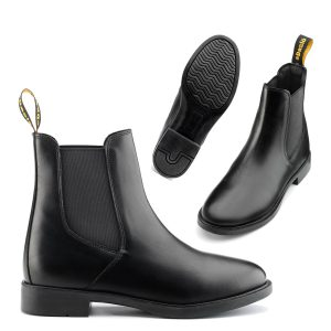 Daslo adult jodhpur boots synthetic leather