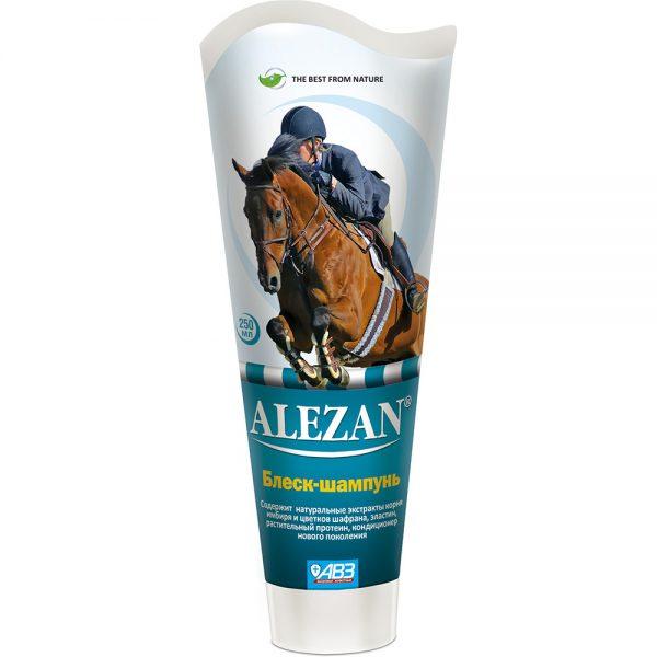 Alezan блеск-шампунь для гривы и хвоста