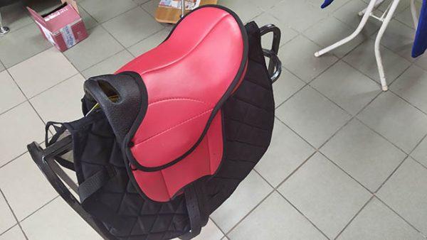 Седло для пони HKM (Красное)