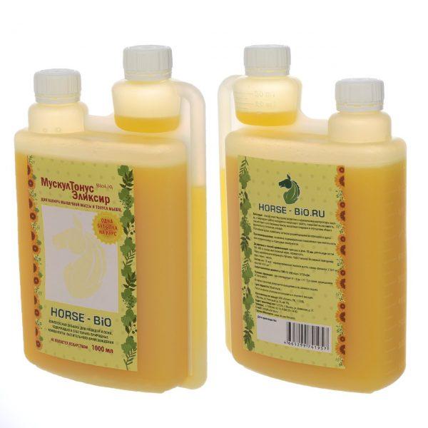 Мускул Тонус эликсир BioLiq на основе льняного масла, 1л