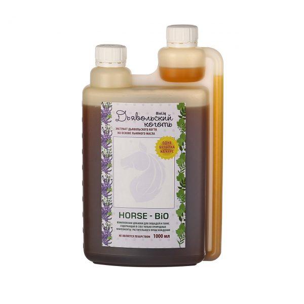 Дьявольский коготь BioLiq Active на основе льняного масла, 1 литр
